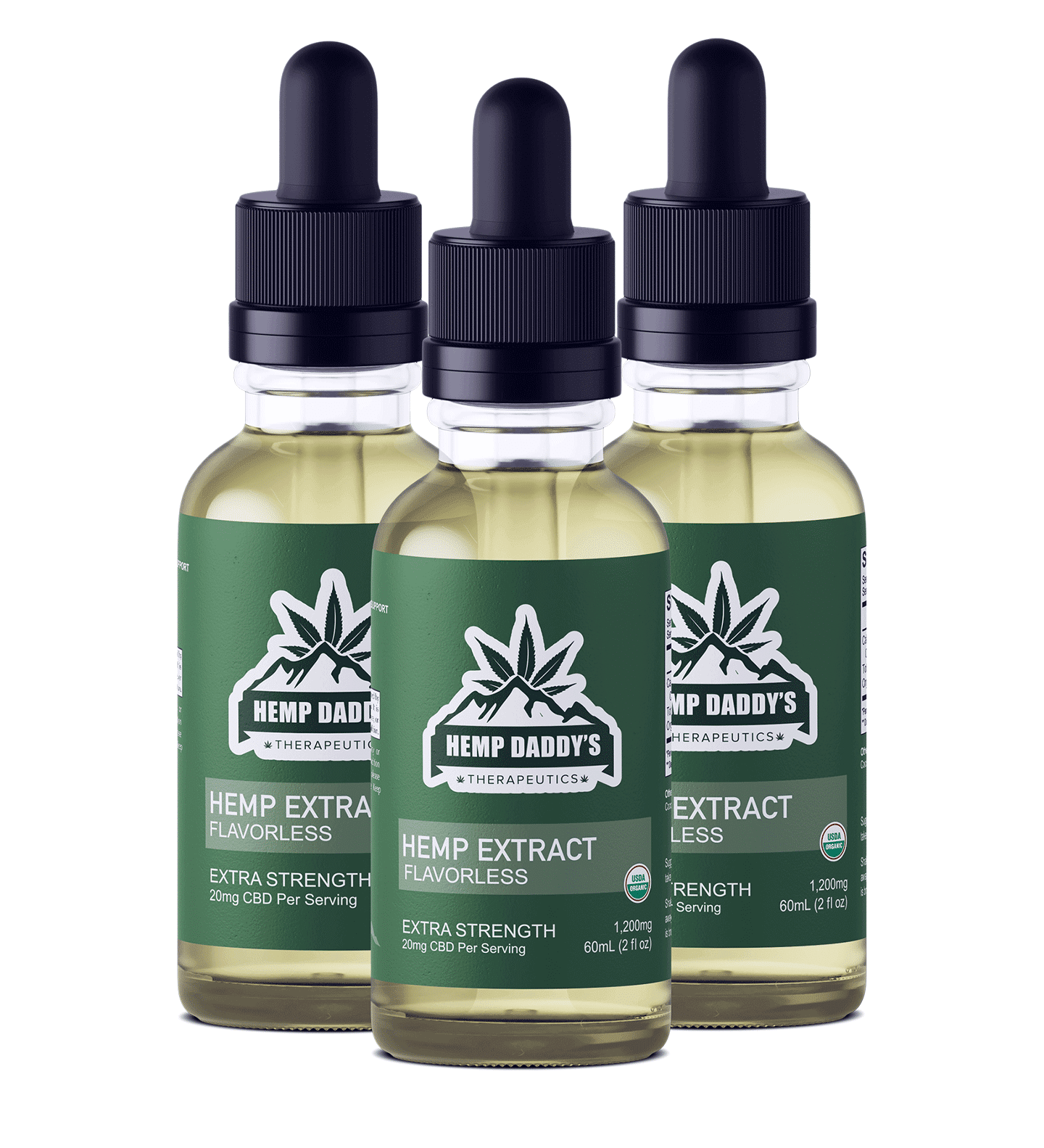 Organic CBD Oil Full Spectrum Extra Strength