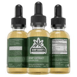 Full Spectrum CBD Oil Made with USDA Organic Hemp