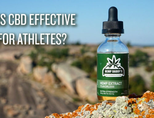 Is CBD Effective for athletes?
