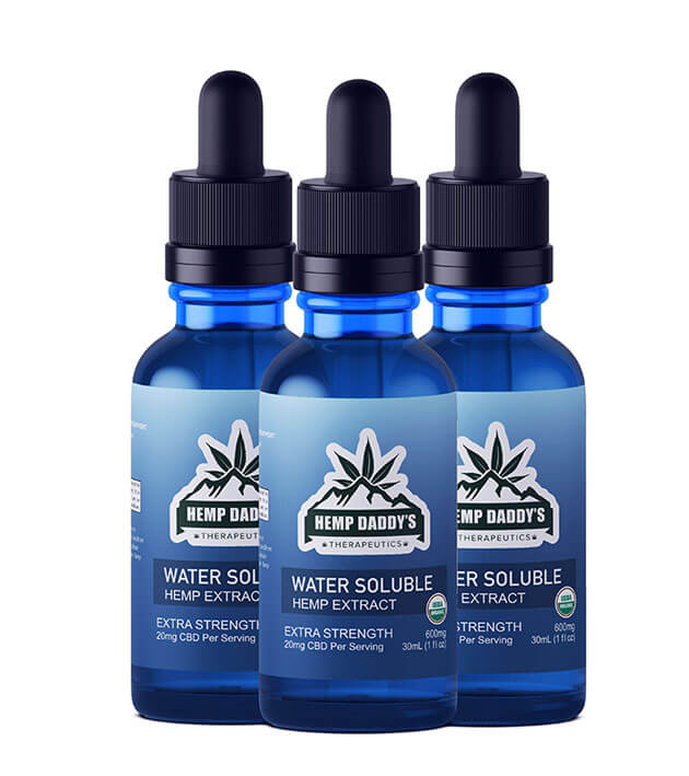Organic Water Soluble CBD Oil